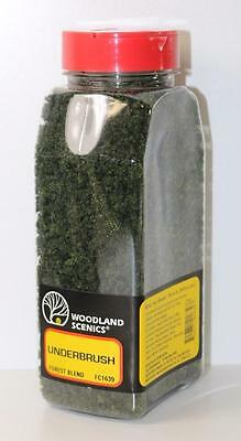 HO OO Woodland Scenics Forest Blend UnderBrush & Shaker 50in³ FC1639 FNQHobbys