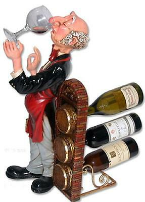 Human Wine Statue Connoisseur Wine Statue Home Bar  Cafe Resturant Art Decor