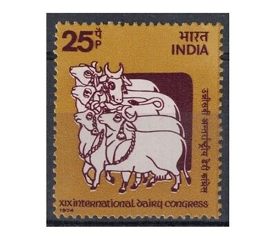 INDIA 1974 Congresso lattiero-caseario 1v MNH**