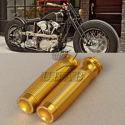 "Golden Rough Crafts 1"" Handlebar Grips F Harley Sportster XL1200 883 Forty-Eight"