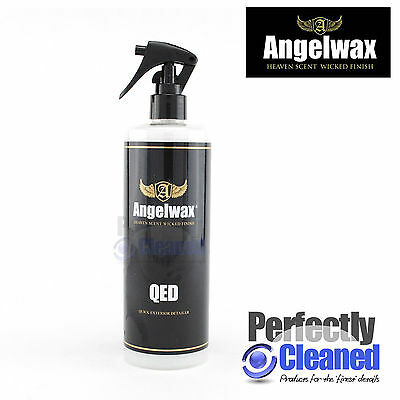 Angelwax QED Quick Detailer 500ml with Trigger Spray Head