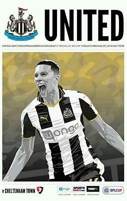 2016/17 - NEWCASTLE UNITED v CHELTENHAM TOWN (LEAGUE CUP - 23rd August 2016)