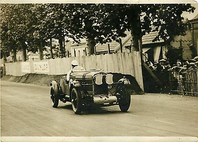 """Rose RICHARDS-DAVIES /TALBOT LE MANS 1931"" Photo originale G. DEVRED (Agce ROL)"