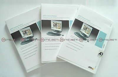 €295+IVA AXIS Camera Station 4x Licenses Pack 0202-052- NEW SEALED