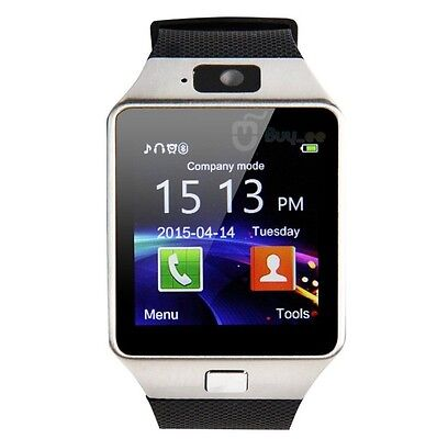DZ09 Bluetooth Smart Watch Phone Camera SIM Card For Android IOS Phone Fast Ship