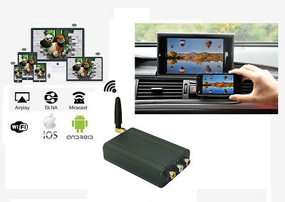 CAR Wi-Fi IPHONE AIRPLAY ANDROID MIRACAST & SCREEN MIRRORING FOR CAR STEREOS