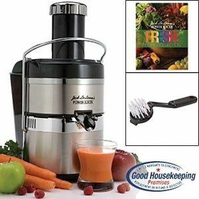 Jack Lalanne Electric Juicer JLSS Power Juicer Deluxe Stainless-Steel