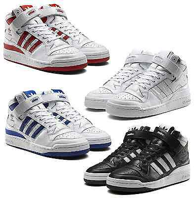 detailed pictures fd6ab 17aee ... sweden adidas forum mid refine refined sneakers mens basketball style  shoes 480b5 544e4