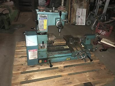 Used Smithy Bench Top Milling Machine / Lathe. DB-122-OXC