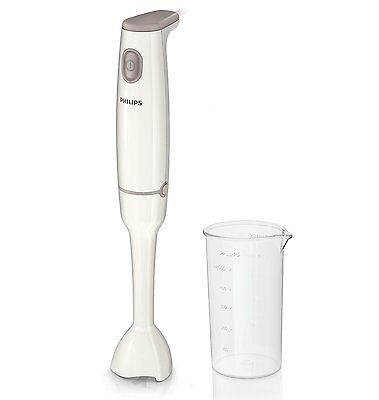 Philips 550w Plastic Daily Collection Hand Blender With Goblet Beaker HR1600