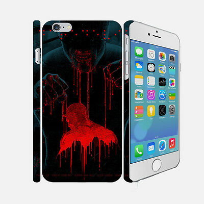 040 Daredevil - Apple iPhone 4 5 6 Hardshell Back Cover Case