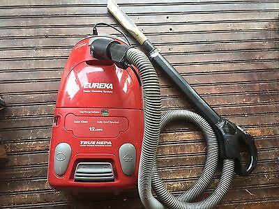 EUREKA Home Cleaning System Canister Vacuum Cleaner Tested & Works Model 6984