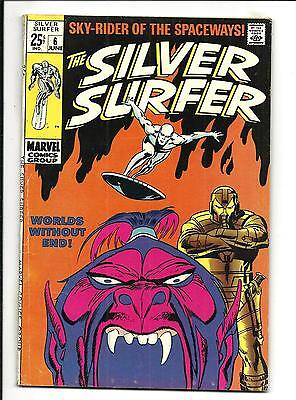 SILVER SURFER # 6 (68pg GIANT, JUNE 1969), VG/FN