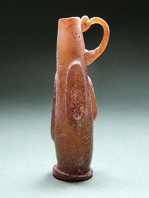Ancient Glass Jug Byzantine - Islamic 700-900 Ad