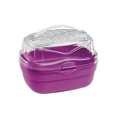 Ferplast Aladino Hamster Carrier Small 20 x 16 x 13.5 cm Red/Pink