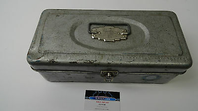 Vintage  Box,fish Tackle Box  Union Steel Utility Chest #8313 Corp Leroy NY,Tool