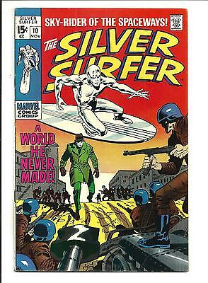 Silver Surfer # 10 (Nov 1969), Fn/vf