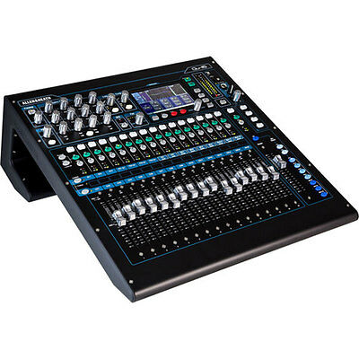 Allen & Heath QU-16C Rack Mountable Compact Digital Mixer, Chrome Edition