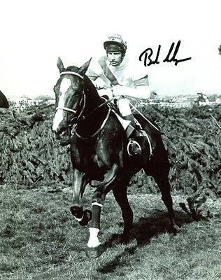 Aldaniti Grand National photo signed jockey Bob Champion UACC DEALER