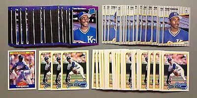 "Lot Of 100 Assorted Tom ""flash"" Gordon 1989 Rookie Baseball Cards Must See L@@k"
