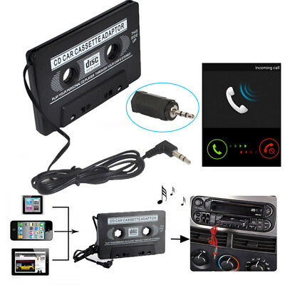 AUX 3.5mm CD Radio Car Audio Tape Cassette Adapter Deck For MP3 Phone 1PC