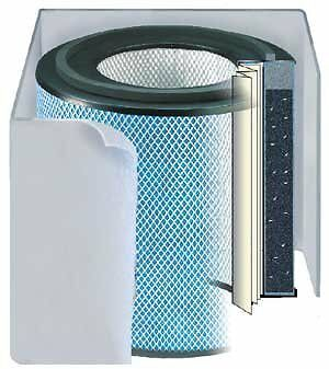 HM 400 HealthMate Air Filter Color: White