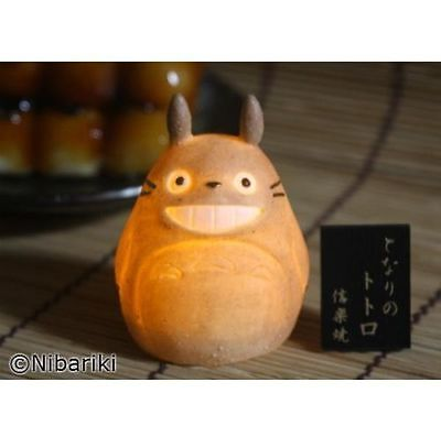 Shigaraki Ware My Neighbor Totoro Ceramic Lamp Studio Ghibli