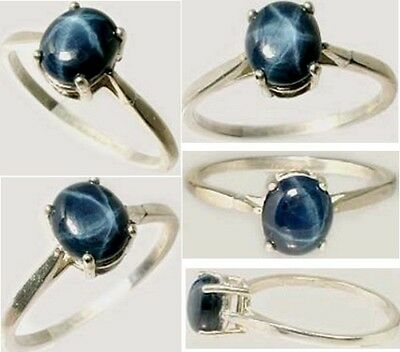 19thC Antique 1¾ct Star Sapphire Ancient Roman Magic Sorcery Oracle Prophecy Gem