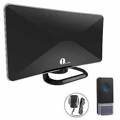 1BYONE Freeview Wireless Digital HDTV Indoor Antenna Amplified Booster Aerial