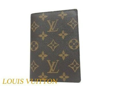 CJ AUTHENTIC LOUIS VUITTON LV Notebook Cover Brown Grade A Used