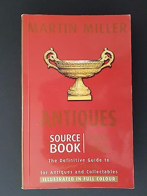 Martin Miller Antiques Source Book Guide 2003 to 2004