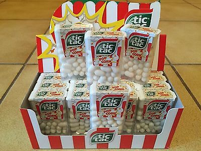 Pack of 6 TIC TAC POP CORN 10.2g LIMITED EDITION FREE SHIPPING