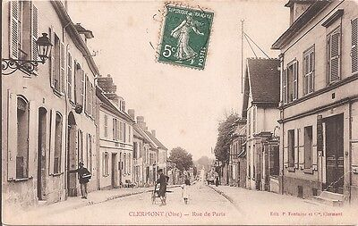 CPA - Clermont - Rue de Paris