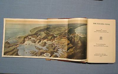 THE PANAMA CANAL   By Frederick J. Haskins, 1913, Choice Copy