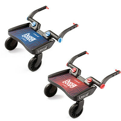 Lascal Buggy Board MINI tpe Blue Red  platform for children with connectors