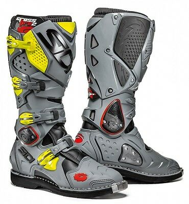 Motorcycle Enduro Boots SIDI CROSSFIRE 2 - size 43 EXPRESS DELIVERY!