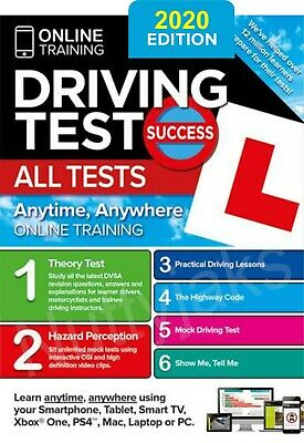 2019 Latest Driving Theory Test Success All Tests Hazard Perception, PC Rom,