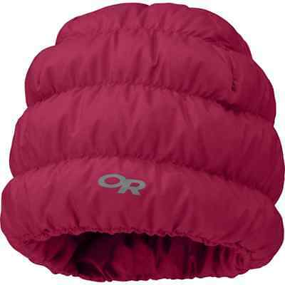Outdoor Research Transcendent Down Beanie Mulberry S/M