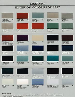1988 mercury topaz with 1990 Mercury Color Chart Chip Paint S Le Brochure 201663252888 on No place  by Monochrome Clown as well 1990 Mercury COLOR CHART Chip Paint S le Brochure 201663252888 further File 91 95 Ford Taurus sedan together with Mercury Mystique 2 0 1999 Specs And Images additionally Fuel Pump Relay Tests 1.
