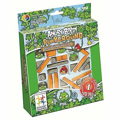 Jumbo, 17849, Smartgames, Angry Birds, Playground, Under Construction, Neu & OVP