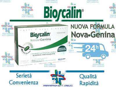 NOVITA' AUTUNNO 2017! BIOSCALIN 30 Compresse R-Plus2 Physiogenina ORIGINALE