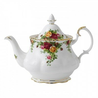 Royal Albert Old Country Roses Large Teapot - NEW in box