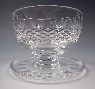 Waterford Crystal COLLEEN-Short Stem Footed Dessert Dish(es) EXCELLENT