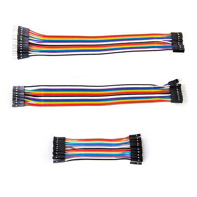 Dupont Wire Connector Cable set 2.54mm 1P-1P for Arduino PCB Project Board