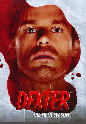 Dexter: The Fifth Season (DVD, 2011, 4-Disc Set) Brand new and Sealed