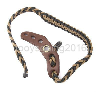 Archery Bow Braided Nylon Paracord Wrist Sling Strap Cord for Compound Bows
