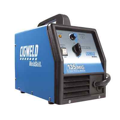 Cigweld WeldSkill 135 MIG Portable Welding Machine.  #W1004135