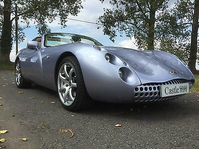 2001 TVR Tuscan 4.0 Manual 5 Speed Convertible in Metallic Purple Illusion
