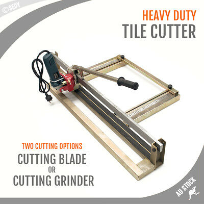 Heavy Duty Tile Cutter 800mm Tile Cutting Machine Blade or Angle Grinder Cutting