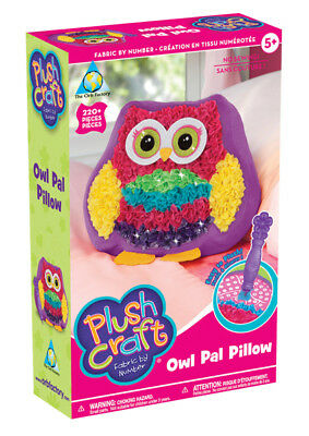 Orb Factory 69391 - PlushCraft Owl Pal Pillow - Eulenkissen